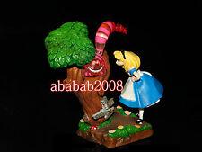 Yujin Disney Cinemagic Paradise figure Alice in Wonderland Cheshire Cat & Alice