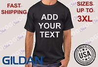 Custom Add Your Text Shirt Message Business Name Personalized Tee T-Shirt Top