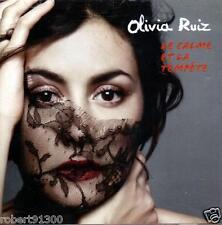 CD audio.../...OLIVIA RUIZ.../...LE CALME ET LA TEMPETE.......