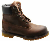 Timberland AF 6 Inch Premium Rugged Womens Boots Brown Leather Lace Up 8554B T5