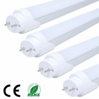 4x  2FT T8 9W LED Tube Lights G13 Flourescent Lamp Bar Cool White Light