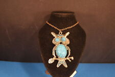 Stunning large  OWL  PENDANT -  NECKLACE  Jewelry  BRAND NEW!   U.S.A. SELLER!