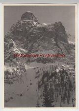(f6729) ORIG. foto Dolomiti, DOLOMITI, MONTAGNA massiccio 1936