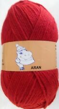 Woolyhippo Aran Knitting Yarn Acrylic Wool Nylon Mix 100g Soft Crochet Craft