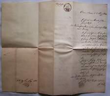 Abschrift einer Auswanderungserlaubnis v. Anhalt Dessau nach Berlin 1840 Urkunde