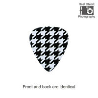 Houndstooth Pattern Guitar Pick (10pcs)
