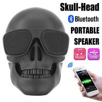 Altoparlante Stereo Bluetooth Senza Fili Con Altoparlante Portatile Mini Teschio