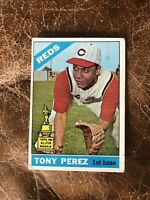 1966 TOPPS #72 TONY PEREZ HOF CIN REDS— ICONIC CARD💥*** (wph)