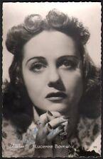 Lucienne Boyer. Photographie signée. Collection Leroux. Vers 1940