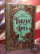 NEW SEALED Tarzan of Apes 1st 3 Novels E Rice Burroughs Bonded Leather Hardcover