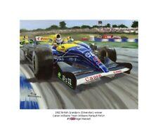 Art Card Five: Nigel Mansell wins at Silverstone 1992 by Toon Nagtegaal (OE)