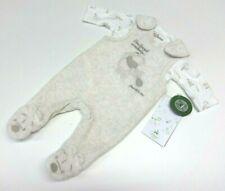 Baby Strampler Body Frühchen Größe 46 Junge Winnie Puuh Disney Samt beige