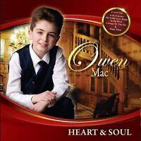 OWEN MAC HEART & SOUL CD - NEW RELEASE MAY 2017