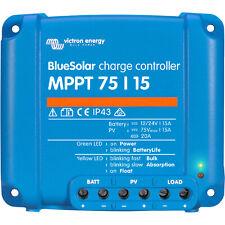 Victron Energy Blue Solar 12-24V 75/15 MPPT Solar Charge Controller