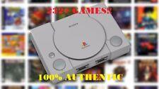 Sony PlayStation Classic Console Mini MODDED 232+ Games! 128GB USB Drive & Hub!