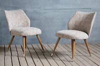 Vintage Retro MidCentury East German Cocktail Easy Lounge Chairs Hairpin Legs