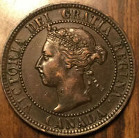 1899 CANADA LARGE 1 CENT PENNY - Very nice example!