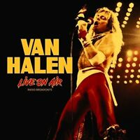VAN HALEN - LIVE ON AIR   VINYL LP NEW+