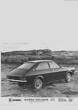 B. LEYLAND MORRIS MARINA 1300 COUPE SUPER DELUXE PRESS PHOTO brochure related