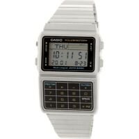 Casio Men's Stainless Steel Databank Calculator Watch DBC-611-1D