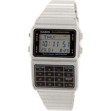 Casio Men's Stainless Steel Databank Calculator Watch DBC-611-1D
