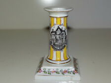 Joli petit Bougeoir porcelaine marqué Villa Alvear, dessous Rue de la Paix Paris