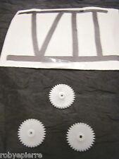 Ingranaggi ingranaggio pezzi di ricambio modellismo meccanismi in plastica VII