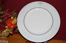 4 Lenox Kate Spade June Lane Platinum Dinner Plates New USA