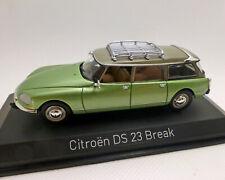 Citroen DS 23 Break Green-Metallic, Norev 1:43