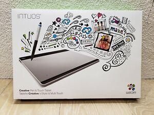 Wacom Intuos Creative Pen & Touch Medium Tablet - Silver (CTH-680)