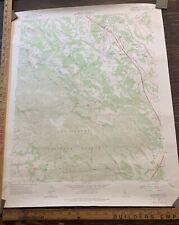 USGS topographic map california Atascadero SLO County Central California 1965