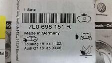 2007 to 2015 Audi Q7 Front Brake Pads - Genuine Audi Factory OEM - 7L0698151R