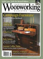 Popular Woodworking Magazine Campaign Furniture Stickley Book Rack Trifid Feet