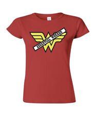 Corona Essential Worker Wonder Woman T-Shirt SM-2XL Social Distancing Quarantine