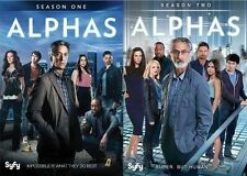 Alphas Complete Series First Second Seasons 1 2 Collection DVD Set TV Show David