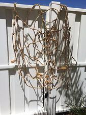 Halloween Outdoor Hanging Yard Prop Decor Spider Web Heavy Duty Rope 5 FT