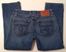 Lucky Brand Crop Blue Jeans Stretch Women's Size 2 - W 27 x L 22 EUC