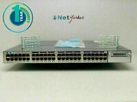 Cisco WS-C3750X-48P-S • 48-Port PoE 3750X Gigabit Switch ■SAMEDAYSHIPPING■