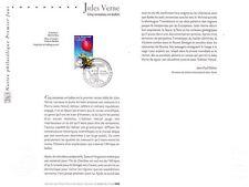2005- JULES  VERNE  ET  SES  ROMANS  EN  6  TIMBRES - OBLITÉRÉ  PREMIER JOUR