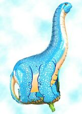 Dinosaur Diplodocus Large Blue Foil Balloon Jurassic Dinosaur Train Decoration