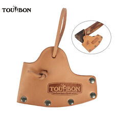 TOURBON Tan Leather Axe Hatchet Cover Hand Made Camping Axe Holder Protector New