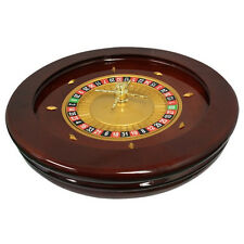 "20"" Solid Wood High Glossy Roulette Wheel for Roulette Tables"