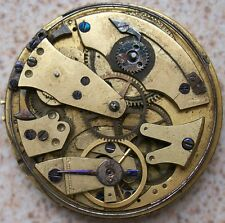 Quarter Repeater Pocket watch Key Wind Movement 43 mm. in diameter
