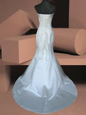 Ivory/white Bridal Wedding/evening Ball Gown Dress Size8 Ivory