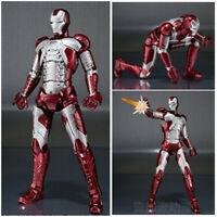 SHF The Avengers S.H.Figuarts Iron Man 2 Mark V MK-5 Action Figure Kid Gift Toy