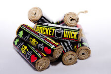 5 Pocket Wick 20 FT. Hemp Wick And Dispenser! Supports Honey Bee Charities!