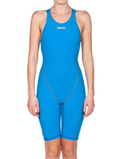 Arena Powerskin ST 2.0 Women's One Piece Racing Swimsuit Blue Size 26 NEW
