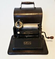 "Phonograph Edison ""Gem"" model"