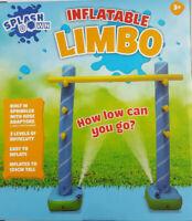 Limbo Splash Down Outdoor Water Game Fun Summer Garden Party Sprinkler