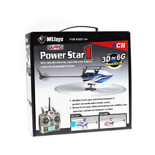 Original WLtoys V977 Power Star X1 6CH 2.4G Brushless 3D RC Helicopter Hot US
